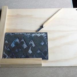 Bench Hook for Carving Linoleum Plates