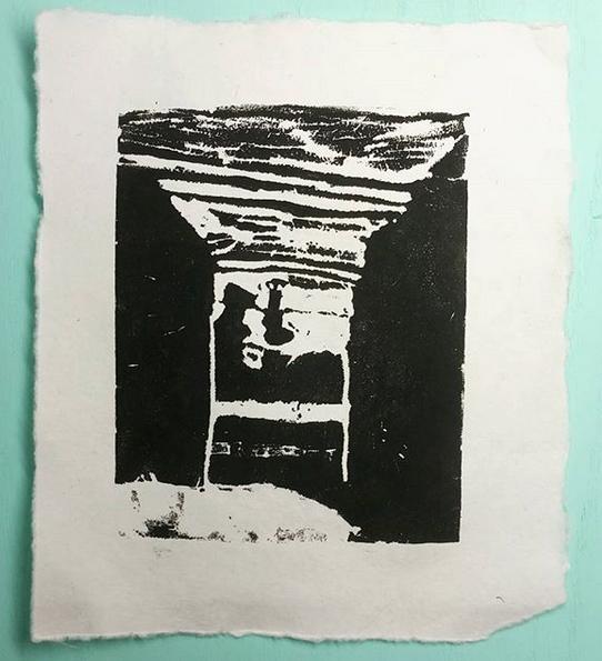 syrofoam printmaking
