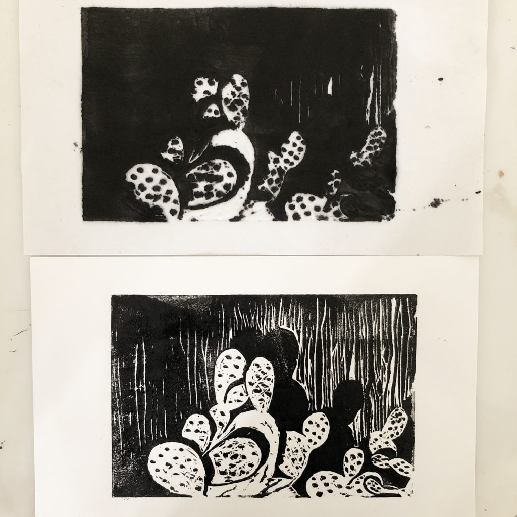linocut troubleshooting